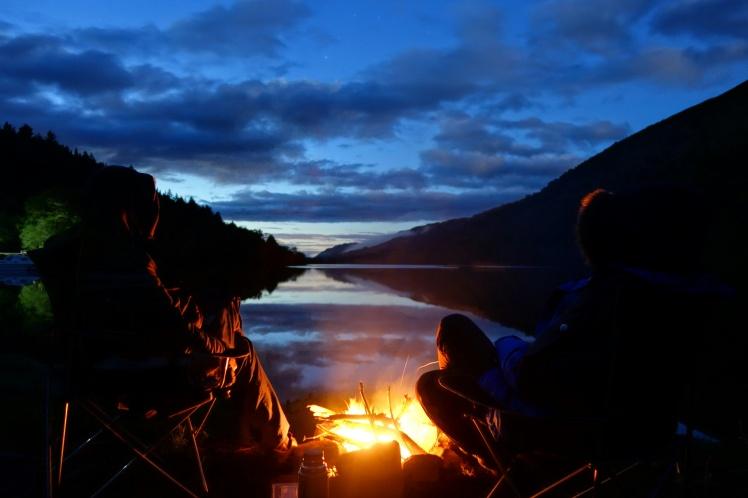 Loch Oich campfire-01