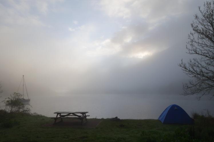 Loch Oich fog