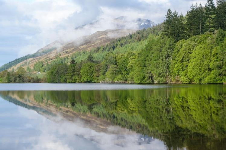 Loch Oich reflections-01