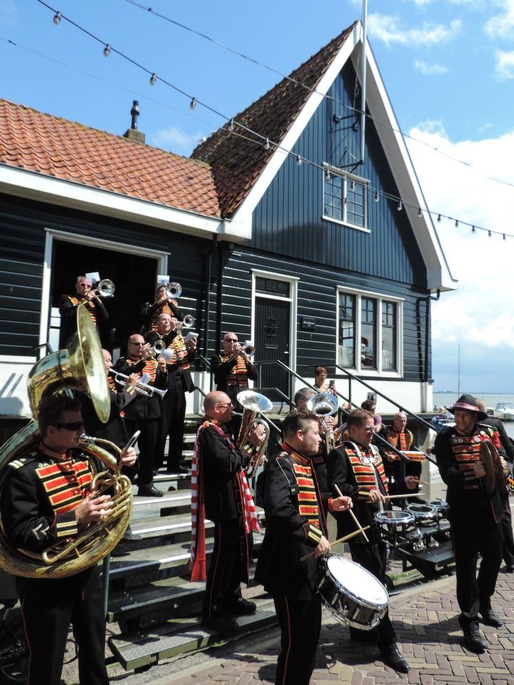 Volendam marching band.jpg