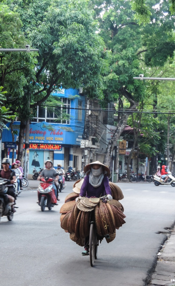 Motorbike transportation in Hanoi