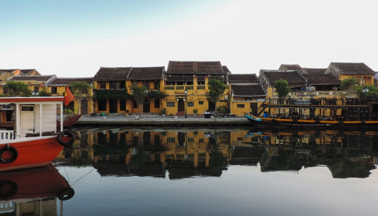 Reflection in Hoi An